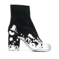 Maison Margiela stivali con punta tabi - di colore nero