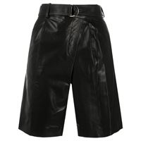 Helmut Lang shorts a portafoglio - nero