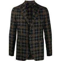 Tagliatore blazer tartan - di colore nero