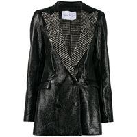Hebe Studio giacca aderente - nero