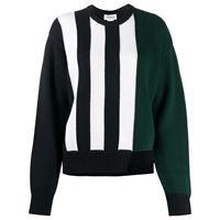 Monse maglione con design color-block - blu