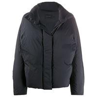 Low Classic giacca con scollo a imbuto - nero
