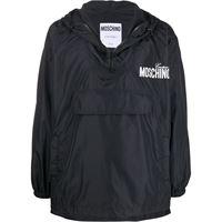 MOSCHINO giacca outerwear uomo a060802151555 poliammide nero