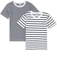 Petit Bateau - set 2 t-shirt alla marinara 3 anni