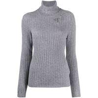 Maison Margiela maglione con effetto vissuto - grigio