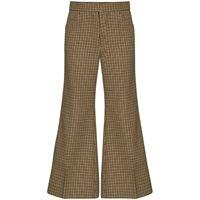 Moncler pantaloni crop 2 Moncler 1952 - marrone