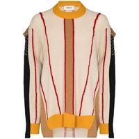 AMBUSH maglione con design color-block - toni neutri