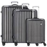 Bric's riccione valigia 4 doppio-ruote set 3pz. Grigio