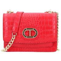 Dee Ocleppo mini bag borsa a tracolla pelle 18 cm rosso