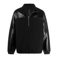 Rick Owens DRKSHDW - giacca a vento - men - cotone/acrilico/poliammidepoliesterepoliuretano - l - di colore nero