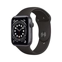 Apple novità Apple watch series 6 (gps, 44 mm) cassa in alluminio grigio siderale con cinturino sport nero