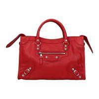 Balenciaga borse a mano Balenciaga city donna rosso