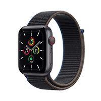 Apple novità Apple watch se (gps + cellular, 44 mm) cassa in alluminio grigio siderale con sport loop cenere