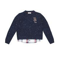 Brunello Cucinelli Kids pullover in lana e cashmere