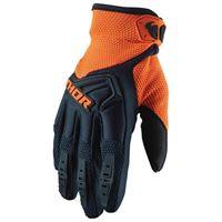 Thor - guanti motocross Thor spectrum blue orange