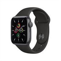 Apple watch se gps 40mm alluminio space grey cinturino sport nero