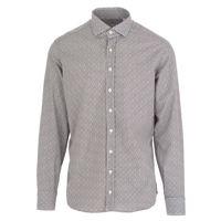 BASTONCINO camicia uomo BASTONCINO | blu marrone micro fiori