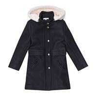 Chloé Kids cappotto in misto lana
