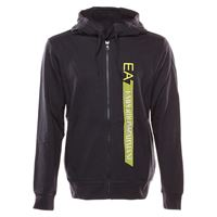 Emporio armani 7 ea7 extended logo hoodie fz