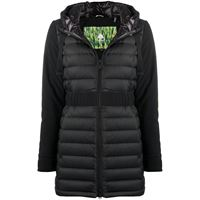 Moose Knuckles piumino collahie hooded - nero