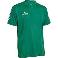 Derbystar contra trikot, maglia da bambino, verde/bianco, 116