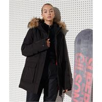 Superdry everest down snow s black