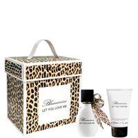 Blumarine let you love m confezione 30 ml eau de parfum + 30 ml body lotion