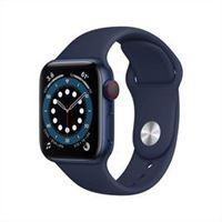 Apple watch series 6 gps+cellular 40mm allumin blu cinturino sport blu