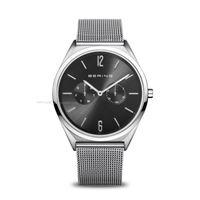 Bering classic silver 17140-002 orologio uomo quarzo solo tempo