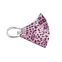20X Mask leopard pink bimbo - mascherina in tessuto