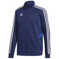 adidas tiro19 tr jkt, giacca sportiva uomo, dark blue/bold blue/white, lt3
