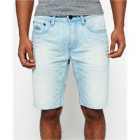 Superdry bermuda in jeans officer slim