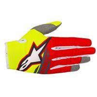 ALPINESTARS radar flight glove - (yellow fluo/red/anthracite)