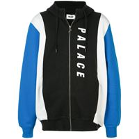 Palace felpa colour-block - nero