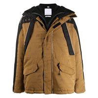 Napa By Martine Rose cappotto con stampa oversize - marrone