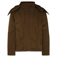 A-COLD-WALL* giacca imbottita con cappuccio rimovibile - verde