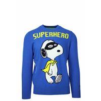 Saint Barth MC2 pullover girocollo lana superhero