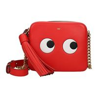 Anya Hindmarch borse a tracolla Anya Hindmarch eyes right donna rosso