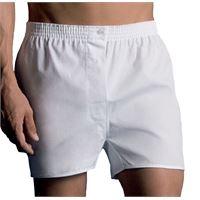 Vela 2 boxer da uomo in tela di cotone 100% con taglio classico vela