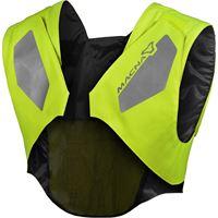 Macna gilet alta visibilità Macna vison tech vest giallo fluo