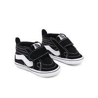 Vans scarpe bebè sk8-hi crib (0-1 anni) (black) infant nero, taglia 16