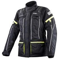 Ls2 giacca nevada xxxl black / hi vis yellow