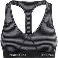 Icebreaker reggiseno sportivo sprite racerback donna grigio