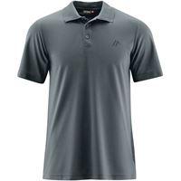 Maier Sports maglietta polo ulrich uomo grigio