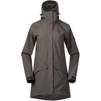 Bergans cappotto oslo 2l donna grigio