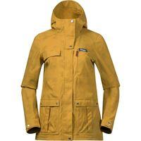 Bergans giacca nordmarka donna giallo