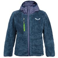 Salewa giacca reversible bambino blu