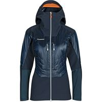 Mammut giacca eisfeld so hybrid hoodie donna blu