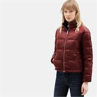 Timberland giacca da donna mount rosebrook in rosso rosso, size l