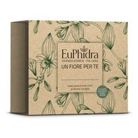 ZETA FARMACEUTICI SpA euphidra cofanetto un fiore per te fiori di vaniglia: bagno crema fiori di vaniglia 75ml + crema corpo fiori di vaniglia 75ml